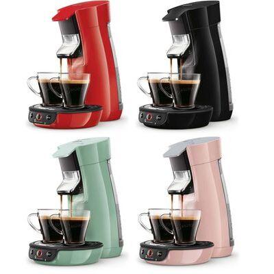 PHILIPS SENSEO Viva Café Cafetière à dosettes HD6563 Booster d'arômes Crema Plus