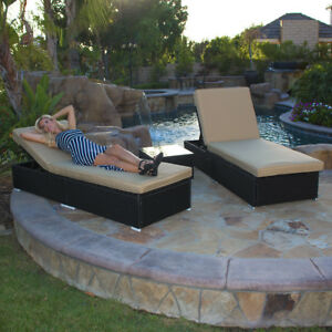 Adjule Pool Chaise Lounge Chair