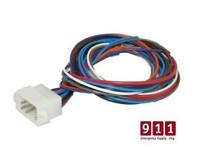 whelen replacement siren control power harness plug cable 12 pin image is loading whelen replacement siren control power harness plug cable