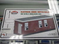 Model Power Ho Structure Kit - Electrical Signal Switch Building 490-185