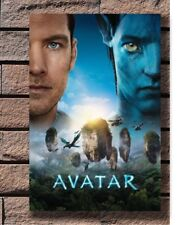Art Poster 24x36 27x40 Avatar 2009 Hot Movie Sam Worthington T-2119