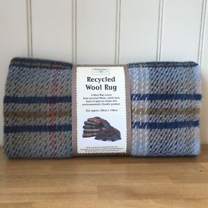 Details About Tweedmill Recycled 100 Wool Throw Rug Picnic Blanket Travel Camping