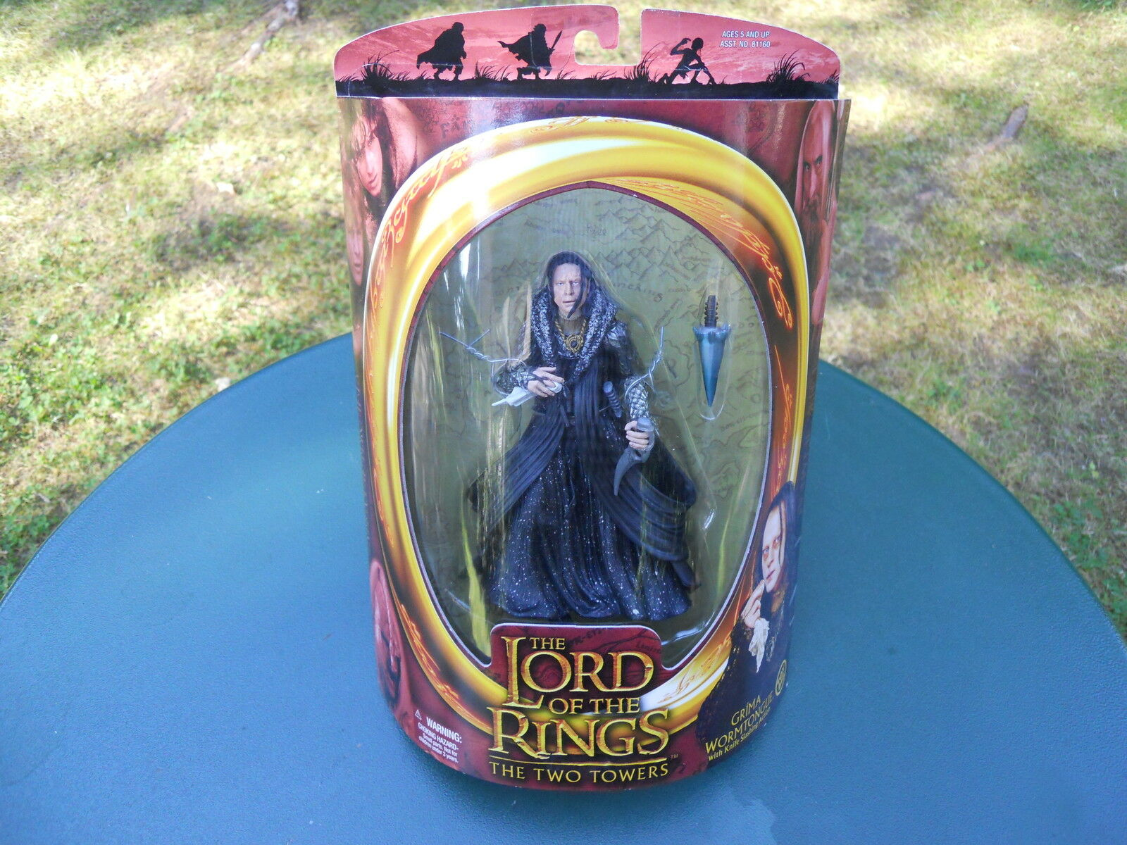 LORD OF THE RINGS  LE SEIGNEUR DES ANNEAUX    GRIMA     RARE MINT IN BOX