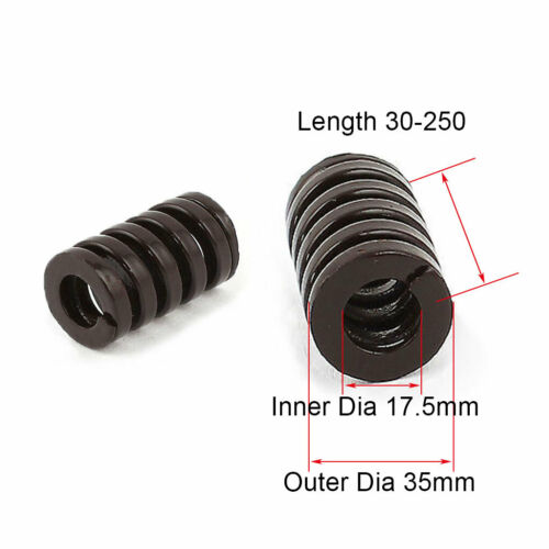 35mm OD Brown Extra Heavy Duty Compression Stamping Mould Die Spring 17.5mm ID