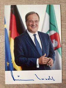 Armin Laschet original signierte Autogrammkarte Bundeskanzler Kandidat Autogramm