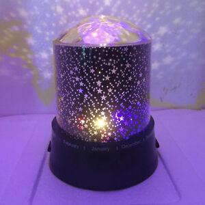 led sternenhimmel projektor stern lampe nachtlicht f r kinder schlafzimmer part ebay. Black Bedroom Furniture Sets. Home Design Ideas