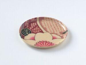 Pro Japanese Round Plate saucer Small TOMITALIA  VENIE Sakura pattern Japan