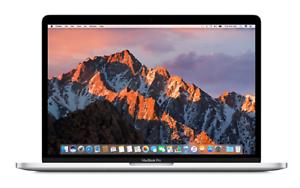 "Apple 13"" MacBook Pro Silver Touch Bar Core i7 3.5GHz 16GB RAM 512GB SSD   2017"