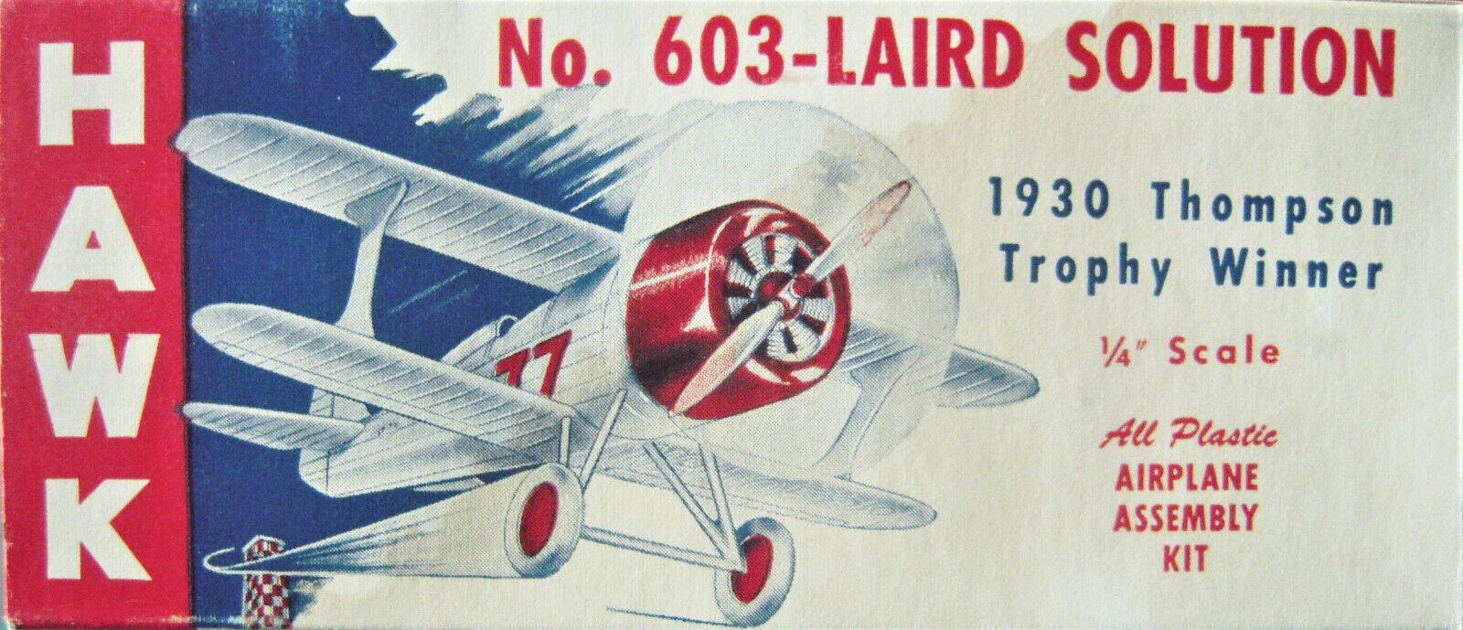 Hawk No. 603  Laurenzi Soluzione Racer  1949 Rilascio  148  Molto Raro