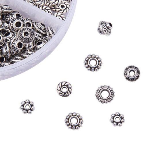 300x 1 Box Tibetan Silver Spacer Beads Jewelry Finding Bracelet Jewelry Makin ZR