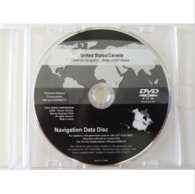 2007 2008 2009 CADILLAC ESCALADE NAVIGATION DISC DVD CD