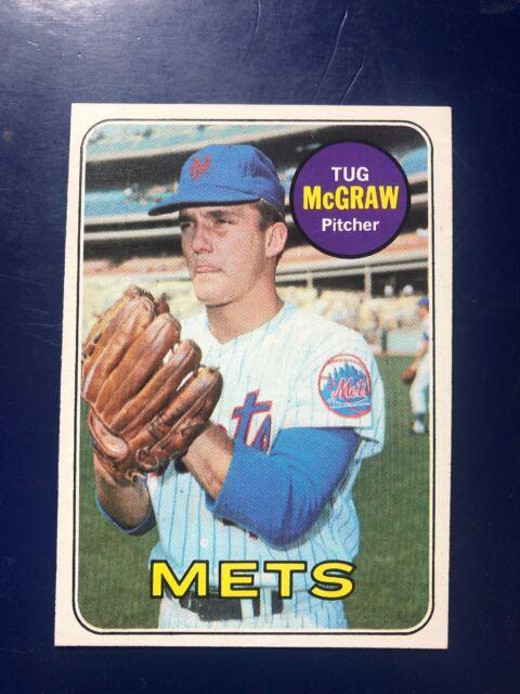 1969 Topps Tug Mcgraw 601 Baseball Card