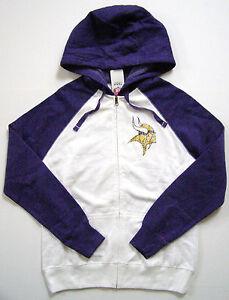 fe8c3aa0ba8 La foto se está cargando Nfl-Minnesota-Vikings-Para-Mujer-Sport -Princesa-Blanco-