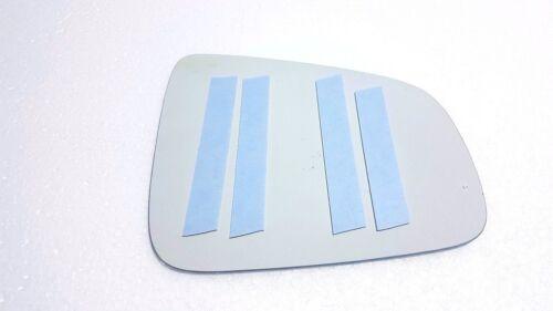 Left Passenger side Flat Wing door mirror glass  Dacia Sandero 2007-14 STICK ON