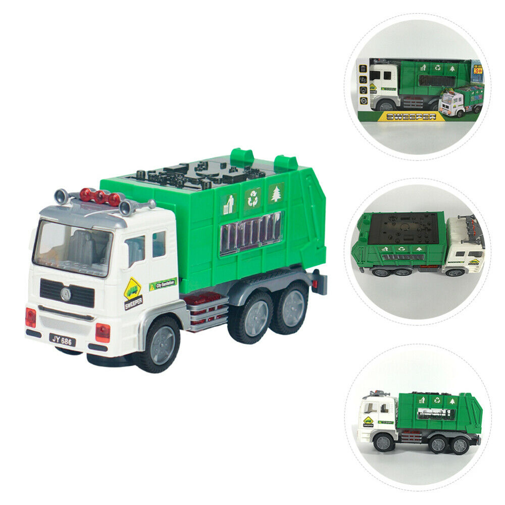 1 Pc Practical Durable Engineering Car Toy For Children Boys Kids