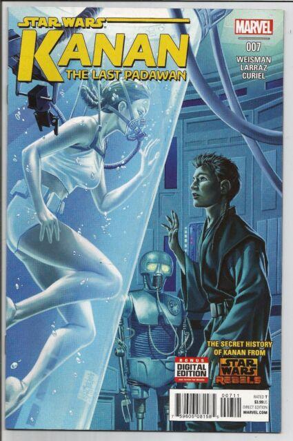 Star Wars: Kanan Last Padawan #7 Dec 2015 Marvel Comics Never Read 1st Printing