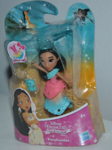 Disney Princess Little Kingdom Snap Ins 3 Dolls Mulan