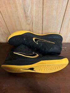 399ba70b3cb Nike Kobe AD Mid BM City Edition AQ5164-001 Black Gold Basketball ...
