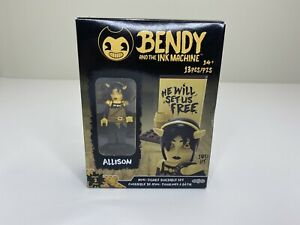 Bendy And The Ink Machine Allison Series 2 Mini Figure Buildable Set 13pcs New
