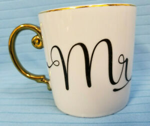 Rosanna-10-oz-Love-is-in-the-Air-Mug-Mr-Coffee-Tea-Coco-Cup-White-Gold