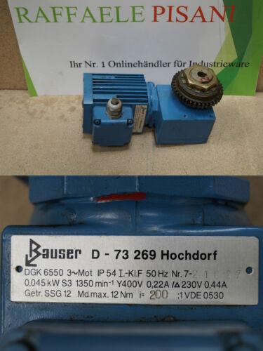 Bauser DGK 6550 //// DGK6550