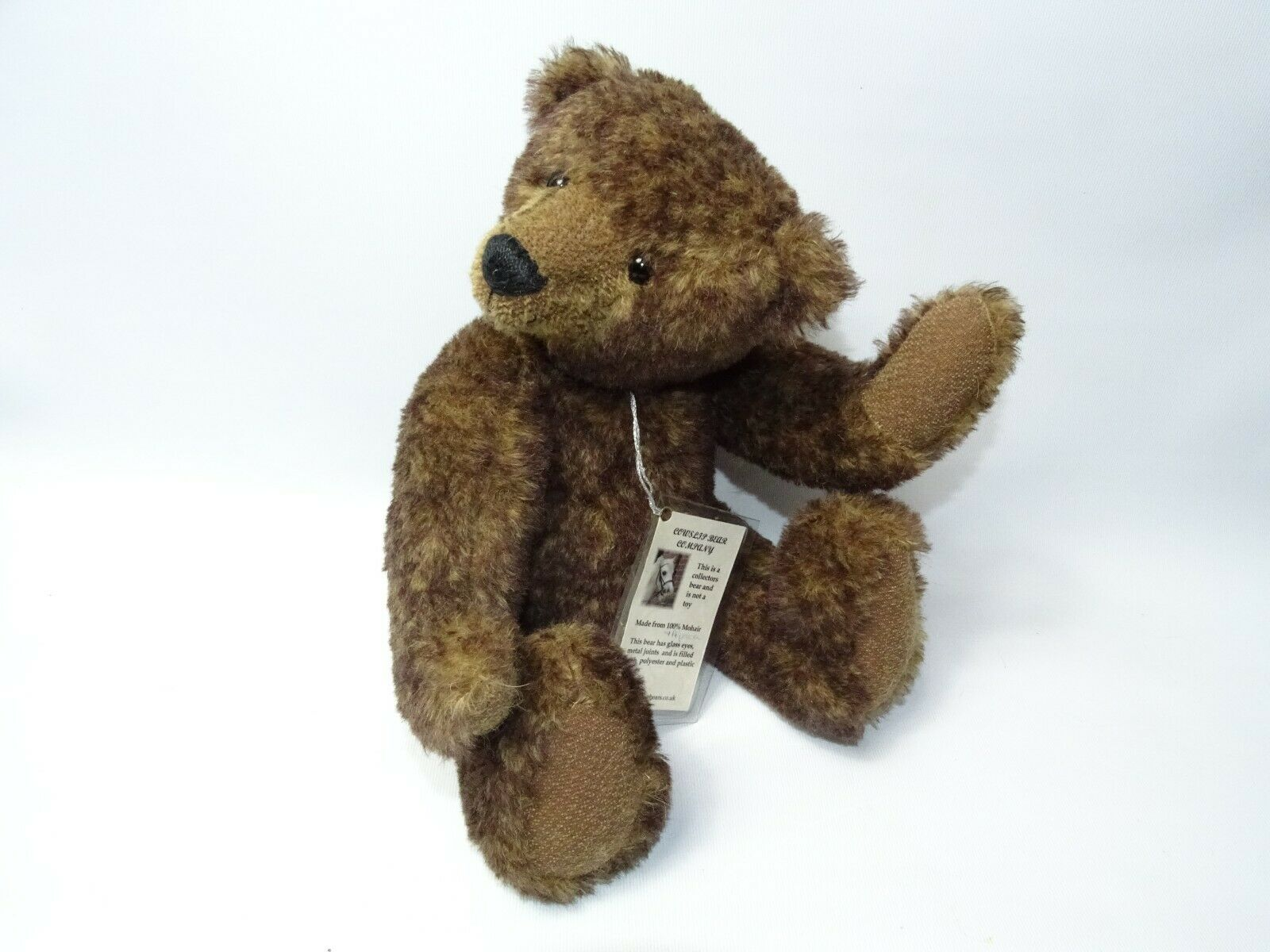 OOAK Artist Made 2003 Mohair Teddy Bear 14  by Christine Of Cowslip bears 1of1