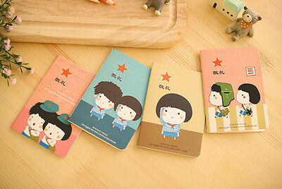 1pcs Time Memory Cartoon Little Notepad Memo Diary Notebook Exercise Book
