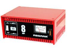 ABSAAR Batterieladegerät 8 Ampere 12 Volt KFZ Ladegerät - PKW Auto Werkstatt
