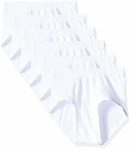 de8f801fae0f 6 Pack Mens Fruit of The Loom Premium Cotton Tag Brief Underwear Sz ...