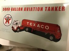 New In Box First Gear 1953 Replica 5000 Gal Texaco Aviation Die Cast Tanker