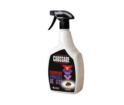 Insecticide Foudroyant Anti Punaises Punaise Lit Oeufs Larve Adulte 1 L Caussade Ebay