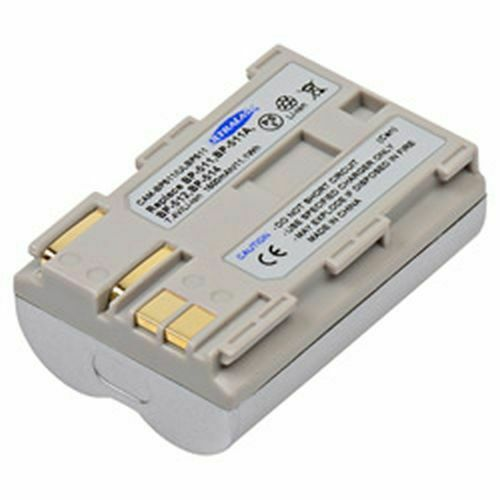 REPLACEMENT BATTERY ACCESSORY FOR CANON IXY DVM