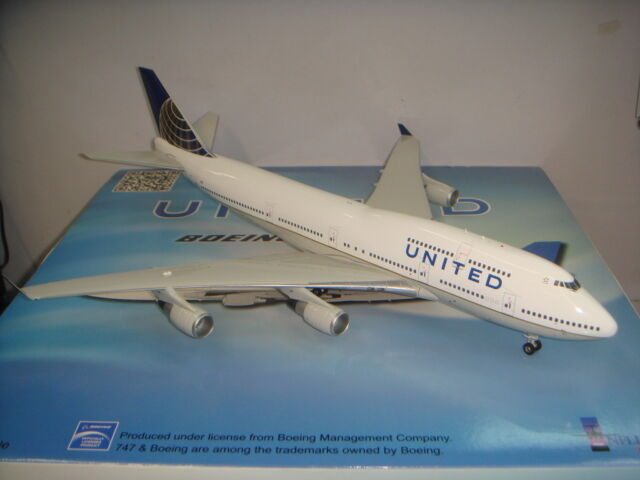 Inflight 200 United Airlines UA B747-400  2010s Merge Coloreee  1 200 DIECAST