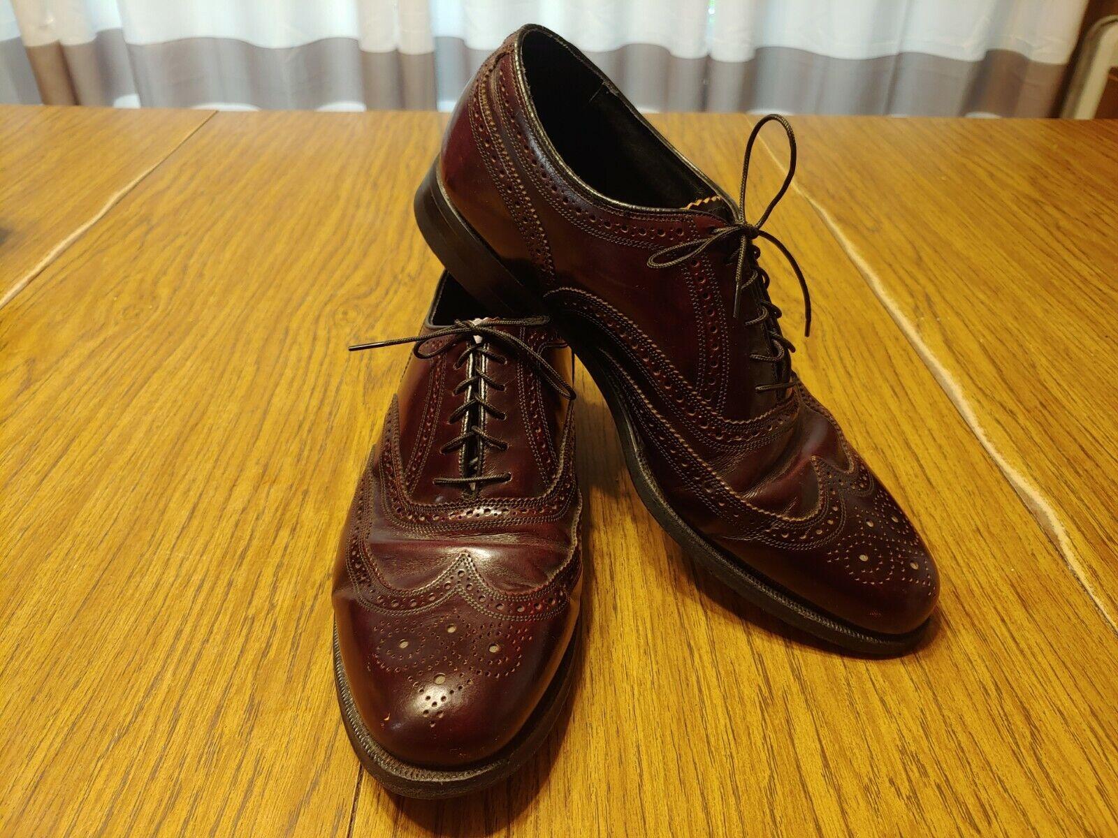 Details about  /Florsheim Burgundy Leather Slip On Penny Loafers Dress Shoes Men/'s 9.5 D