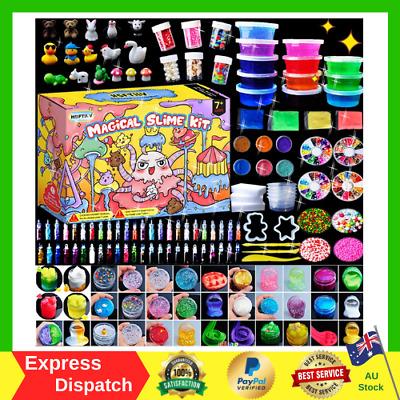 DIY Foam Beads Slime Kit Christmas Gift Present