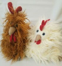 Kenny Cockerel Jellycat Rooster Plush Toy Retired Crazy Hair Chicken