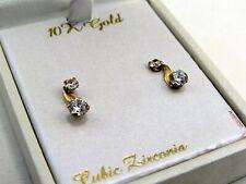 54ead5aec item 8 Taylor Grace 10K Gold & CZ Earrings -Taylor Grace 10K Gold & CZ  Earrings