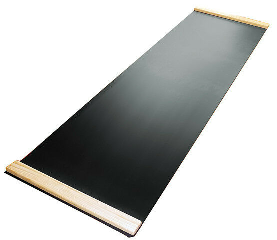 3G Ultimate 6ft x 2ft schwarz Premium Thick Slide Board NEW Nano Buffed Surface