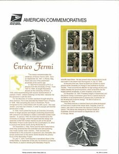 USPS-COMMEMORATIVE-PANEL-636-ENRICO-FERMI-3533
