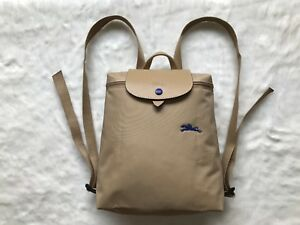 Longchamp Le Pliage Club Collection Horse Embroidery Backpack Bag ...