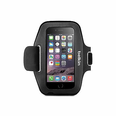 BELKIN ARMBAND FOR IPHONE 6 6S SPORT-FIT VELCRO SLIM ADJUSTABL BLACK F8W500BTC00