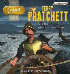Terry-Pratchett-Steife-Prise-2-mp3-CD-NEU-Hoerbuch-CDs-TOP-RARITAT-Wawrczeck