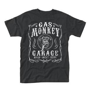 Gas-Monkey-Garage-Flourish-T-Shirt-New-amp-Official