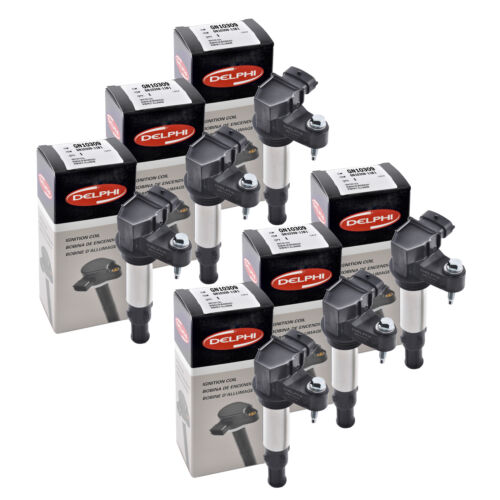 Set of 6 Delphi Ignition Coil GN10309 For Cadillac,Chevrolet,Buick,GMC.. 04-09