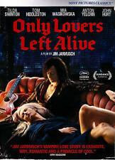 Only Lovers Left Alive (DVD, 2014) JIM Jarmusch Leading Role: Tom Hiddleston