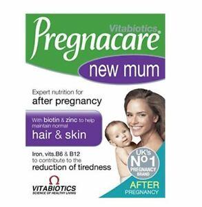 Vitabiotics-Pregnacare-Neu-Mama-Haar-Haut-Vitamine-Tabletten-X-56-Tabletten