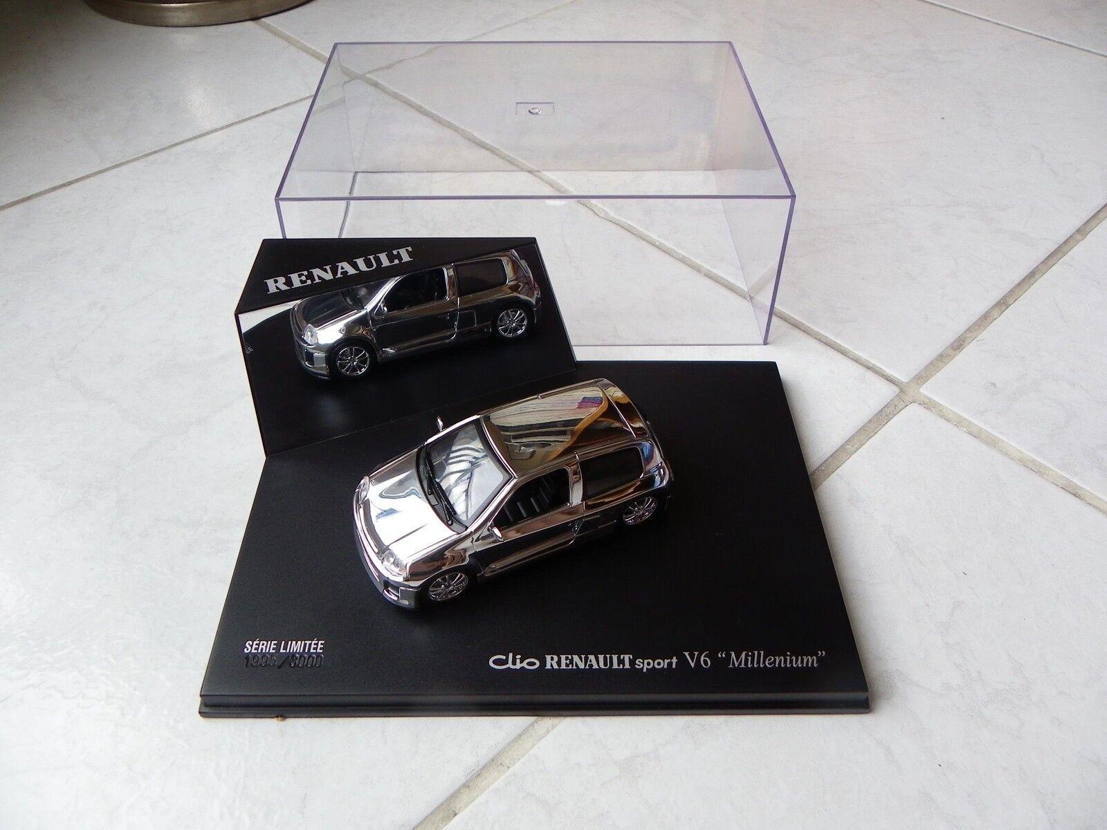 Renault Sport Clio V6 Millenium Universal Hobbies 1995 3000 1 43 miniature