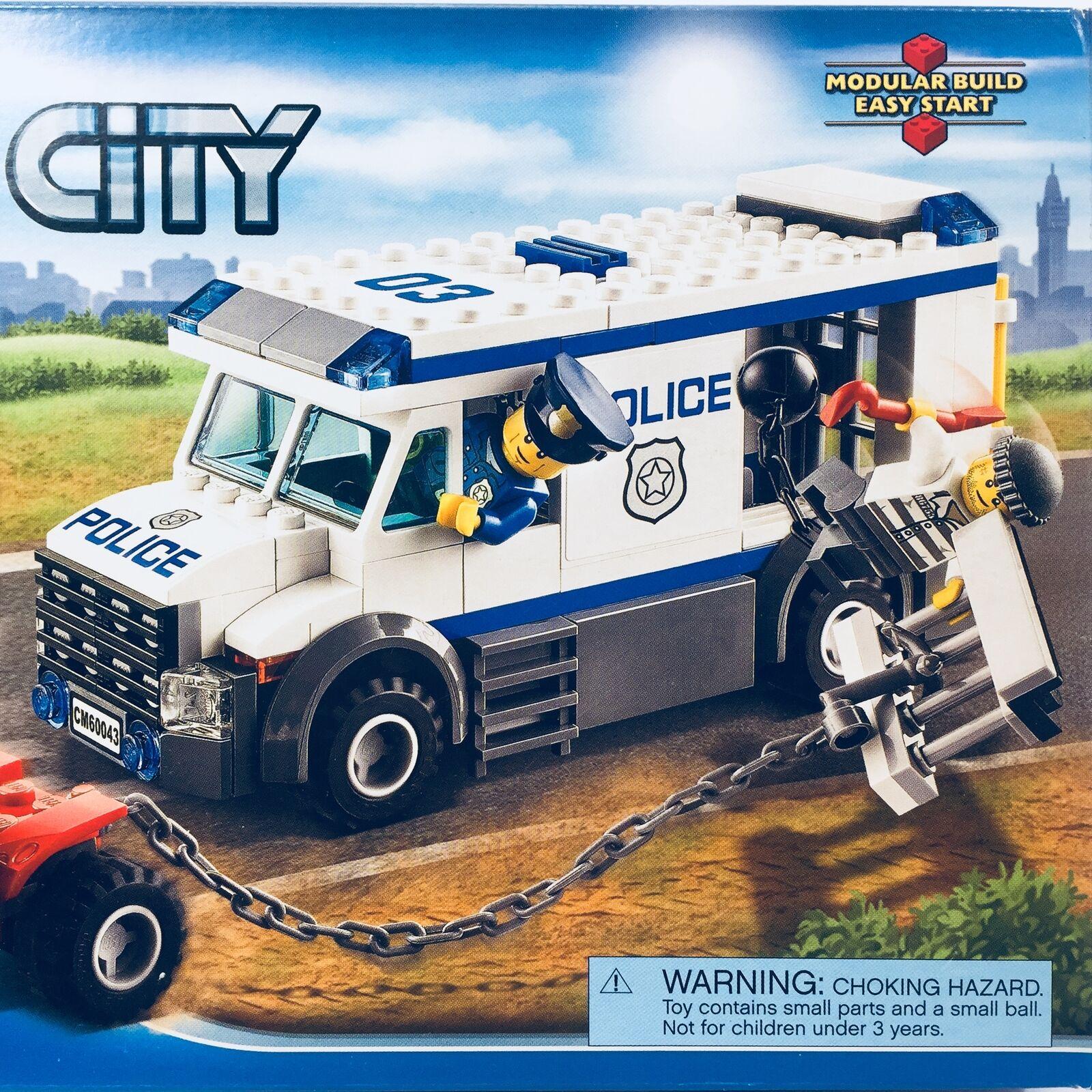 autorizzazione ufficiale Sealed Lego Lego Lego Set   60043; città, Prisoner Transporter  consegna veloce