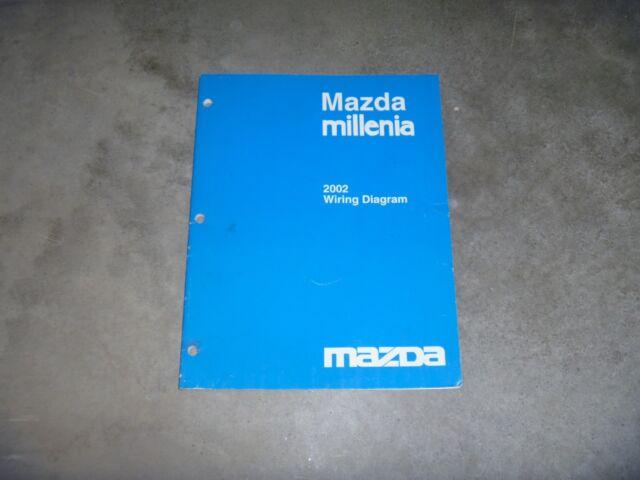 2002 Mazda Millenia Sedan Electrical Wiring Diagram Manual