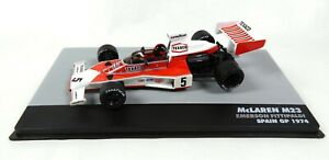 Formule-1-Mc-Laren-M23-E-Fittipaldi-GP-Espagne-1974-1-43-Altaya-Voiture-692